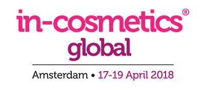 in-cosmetics Global - Amsterdam - 17-19 April 2018